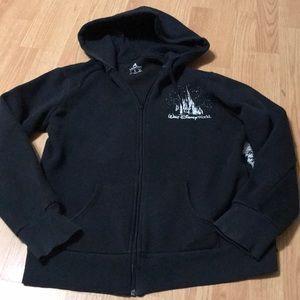 Disney Parks Women's full zip up hoodie size large